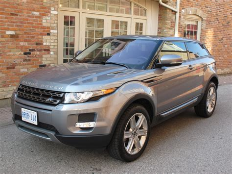 2013 Evoque Review by Canadian Auto Review 2013 Range Rover Evoque Coupe