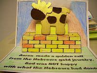 25 best moses the golden calf images on 478 | 975c546f619eea9640f3d755e435544e vbs crafts church crafts