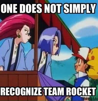 Team Rocket Meme - 83 best images about team rocket on pinterest trainers jessie james and ash