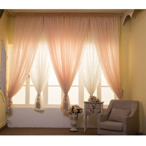 wedding sheer drapes solid tulle curtains for living room window curtains for