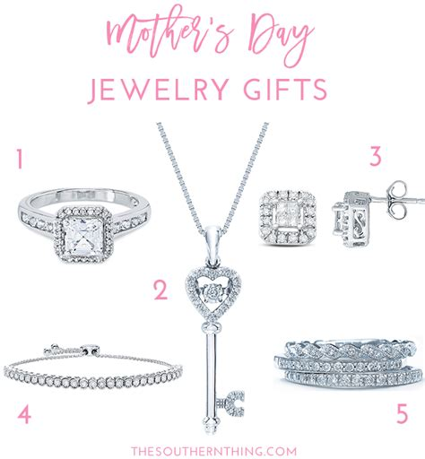 mothers day jewelry gift guide  southern