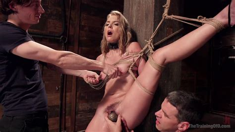 Sexual Orgasms And Nude Porn In Brutal Bondage For The Skinny Blonde Alpha Porno