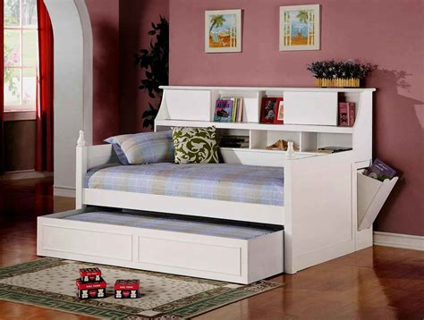 bedroom interesting full size daybed  storage  cozy kids room design ideas