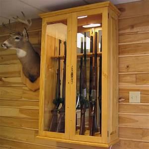 Armoire A Fusil En Bois : armoire fusils en bois massif ~ Dailycaller-alerts.com Idées de Décoration
