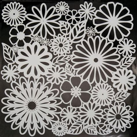 Muster Schablonen by Flower Frenzy Pattern Stencil Glass Delphi Glass