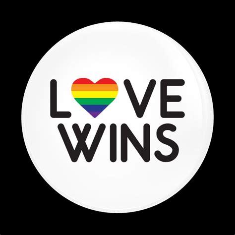 Dome Badge-Love Wins