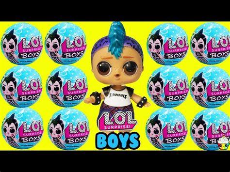 lol surprise boy series  boy dolls boys basketball