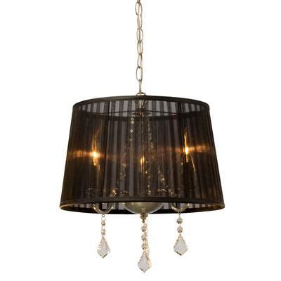 chandelier l shades canada hton bay chandelier with black shade and