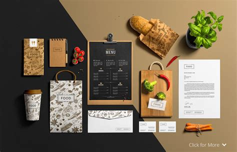 Even if you're a this unique food box mockup from placeit is perfect to promote your asian food restaurant in a. 30+ Best Restaurant Mockup PSD Templates - Designazure.com