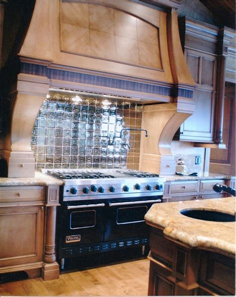 Hand Made Custom Kitchen Backsplash, Omaha By Glas Tile