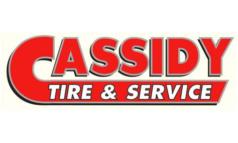 cassidy tire coupon
