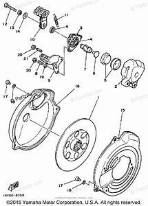 Yamaha Atv 1986 Oem Parts Diagram For Brake