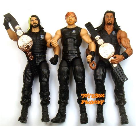 WWE Then Now Forever The Shield Mattel Exclusive Action ...