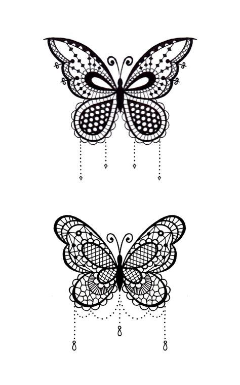 lace butterfly tattoo google search tattoos mandala