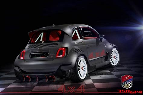 Fiat 500 Awd by Fiat 500 Awd 350hp Racer Is Wickedly Adorable Slashgear