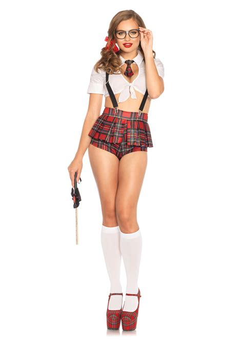 Leg Avenue 85405 Sexy Teacher's Pet School Girl Costume | eBay