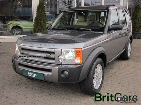 land rover discovery 2007 2007 land rover discovery iii tdv 6 hse car photo and specs