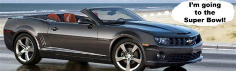 Chevrolet Will Give Super Bowl Mvp A 2011 Camaro