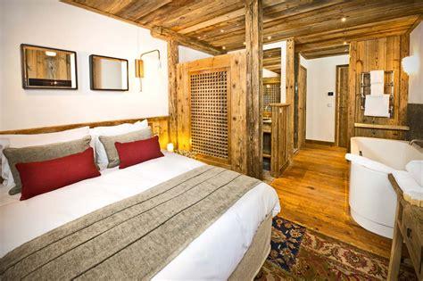 master bedroom and bathroom chalet genepy val d isere alpine guru 15982