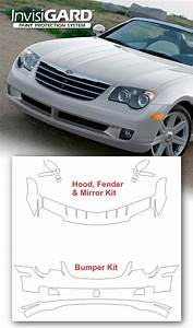 Chrysler Crossfire Invisigard Paint Protection Kit