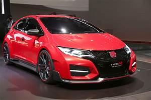 Civic Type R : honda civic type r concept flaunts turbo four in geneva motor trend ~ Medecine-chirurgie-esthetiques.com Avis de Voitures
