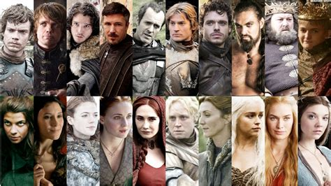 game  thrones characters   wanted