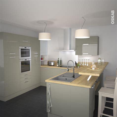 meuble rideau coulissant cuisine bien cuisine avec ilot central et bar 14 cuisine