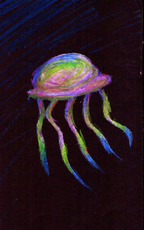 rainbow fish book rainbow jellyfish by stitchedupzombie on deviantart