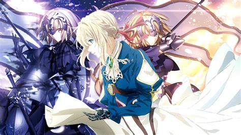 violet evergarden added  fategrand order anime maru