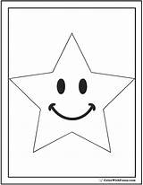 Coloring Star Pages Kindergarten Pdf Printable Colorwithfuzzy sketch template
