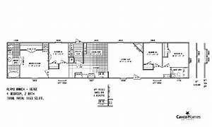 1983 Champion Mobile Home Floor Plan