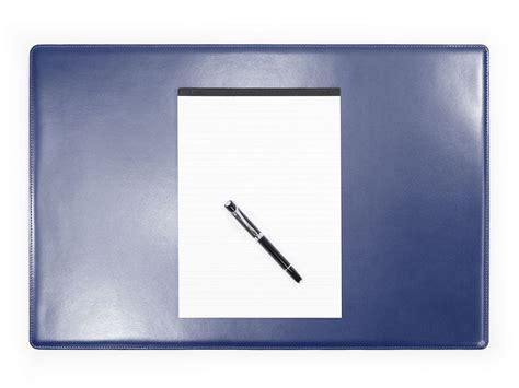 sous cuir bureau sous de bureau en cuir bleu sm700