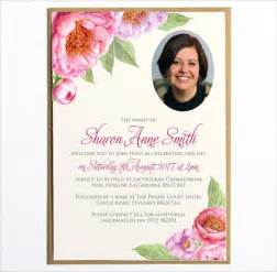 sle funeral invitation template 7 documents