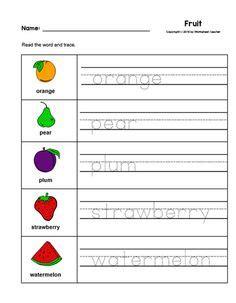 vegetable handwriting worksheet  images writing