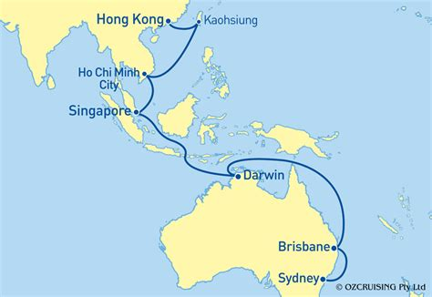 hong kong  singapore map  travel information