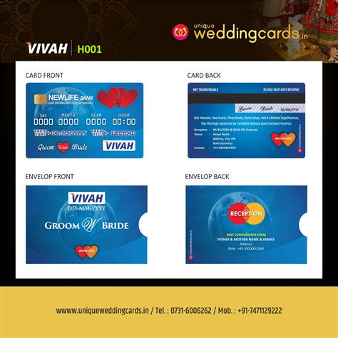 Pin on ATM Style Wedding Invitation Cards For Hindu Marriages