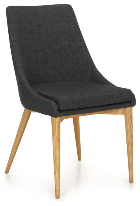 chaise de salle a manger contemporaine chaise abby grise contemporain chaise de salle à
