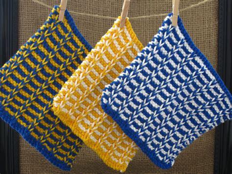 comment tricoter un linge a vaisselle nos conseils