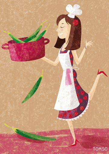 femme qui cuisine illustration recette cuisine studio tomso