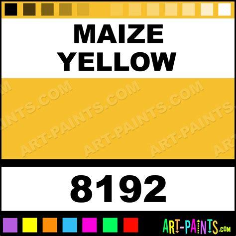 maize color maize yellow silk fabric textile paints 8192 maize