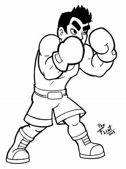 Mac Flintofmother3 Coloring Deviantart Smash Bros Boxing