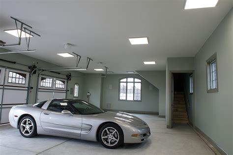 led garage lights led panel light 2x2 5 000 lumens 40w even glow
