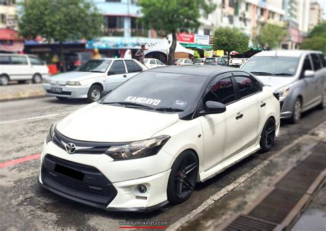Toyota Vios Modification by Modified Vios 3rd Generation My Ride Gk226