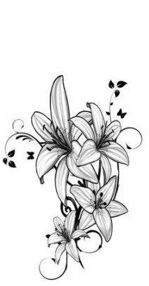 Pix For > Purple Water Lily Meaning | Accessories | Water lily tattoos, Waterlilly tattoo