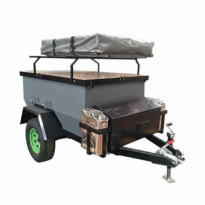 Camping Cargo Utility Box Mini Trailer Road