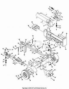 Mtd 24bg57m1704  2012  Parts Diagram For Logsplitter Mtd