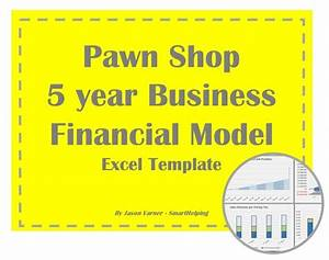 Dcf Valuation Model Pawn Shop 5 Year Business Excel Financial Model Eloquens