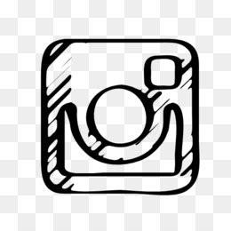 transparent background logo instagram putih png logo keren