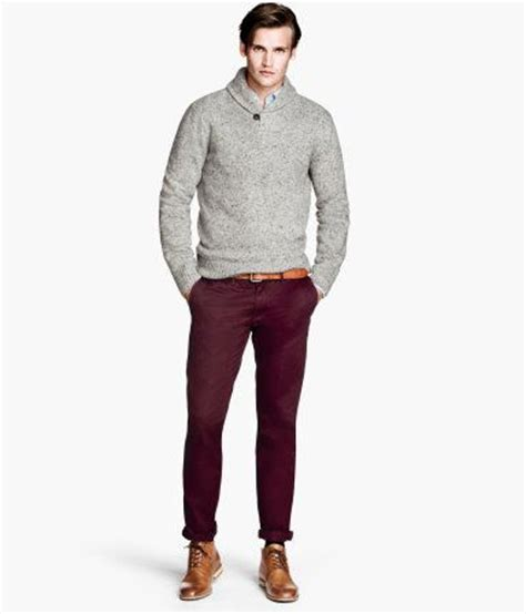 Slim washed twill chinos - Hu0026M   Menu0026#39;s Fashion   Pinterest   The ou0026#39;jays Products and Pants