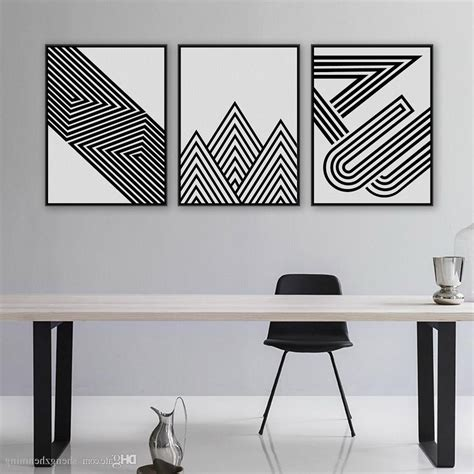 Abstract Black And White Wall by 15 Ideas Of Black And White Abstract Wall
